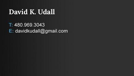 David K. Udall